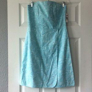 Vineyard Vines strapless seaside dress